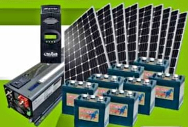 Solar Panels with Inverters for Full Home Installation